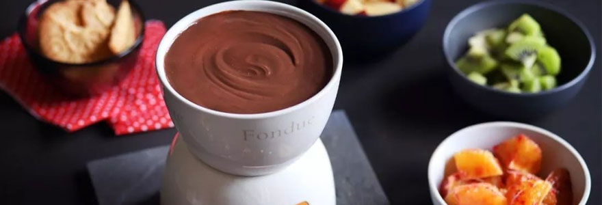 appareils à fondue au chocolat